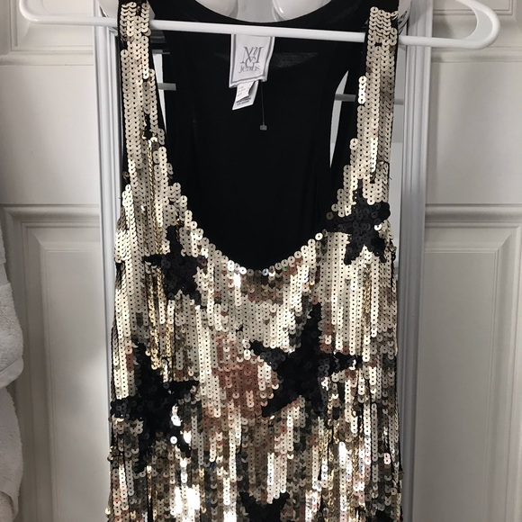 Tops - Sequin tank top